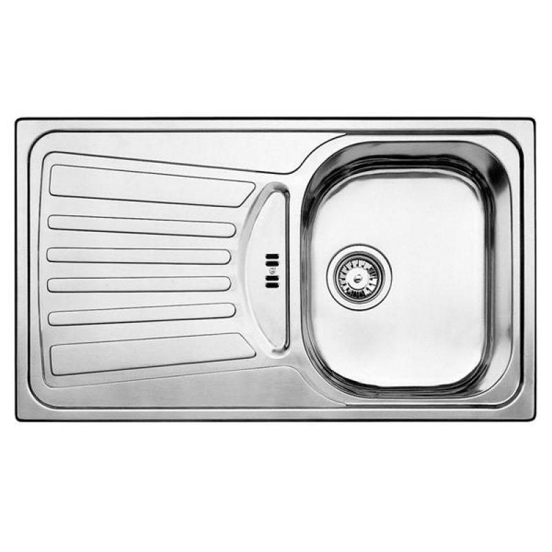Einbauspüle Blancoplus 45 S Centric Edelstahl 508217 Küchenspüle ...