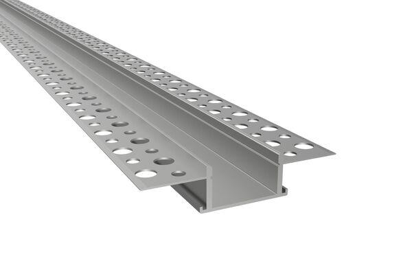 TIVENDIS 10cm Musterset des LED-Aluminium-Profils Muster Profil T1