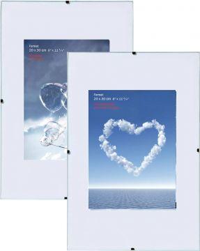 cliprahmen 10 5x15 cm bis 70x100 cm normal antireflex und acrylglas ebay. Black Bedroom Furniture Sets. Home Design Ideas