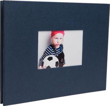 Schraubenalbum Laddi 38x30 cm buttermilch weiße Seiten