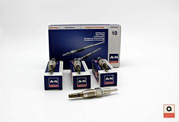 1H2 Zuheizer für VW Vento 3 Stück AMK A-N Glühkerzen elektr 1.9 TDI