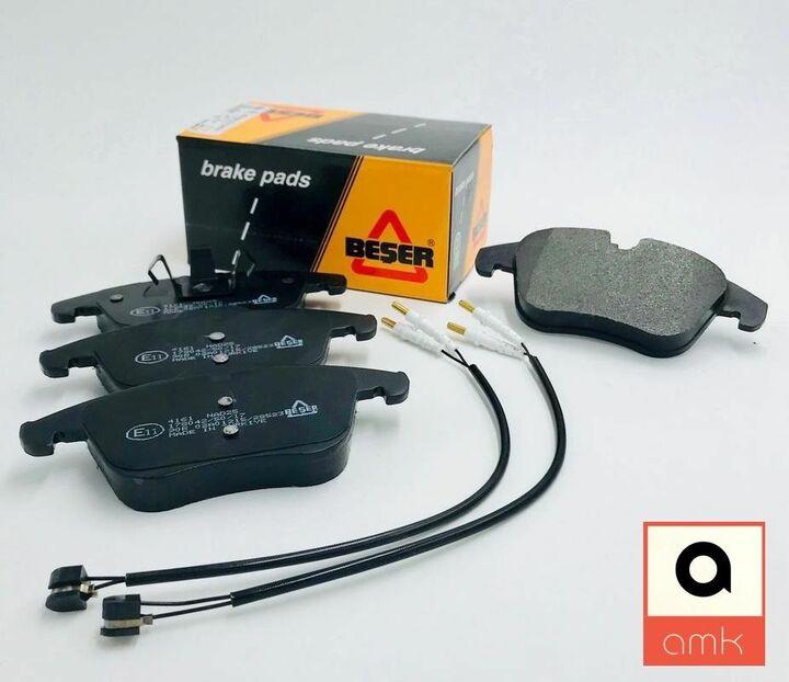 ORIGINAL TRW BREMSBELAG SATZ BREMSKLÖTZE HINTEN VOLVO S60 S80 V70 XC70
