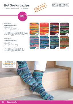 4,75 EUR//100 g NEU Sonderposten Sockenwolle,Sockenparade von Gründl,2 x100gr