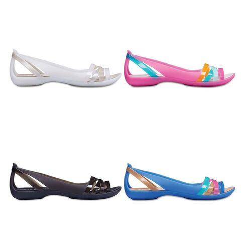 Details about Crocs Isabella Huarache Flat 2 Women Womens Sandals   Sandals    Slippers -- show original title