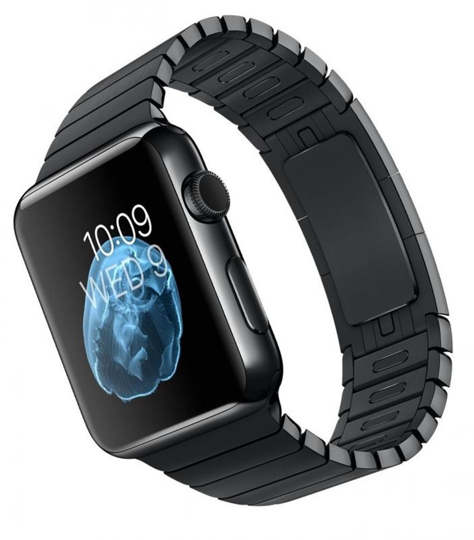 apple smartwatch mj482s a 42mm a1554 edelstahl. Black Bedroom Furniture Sets. Home Design Ideas