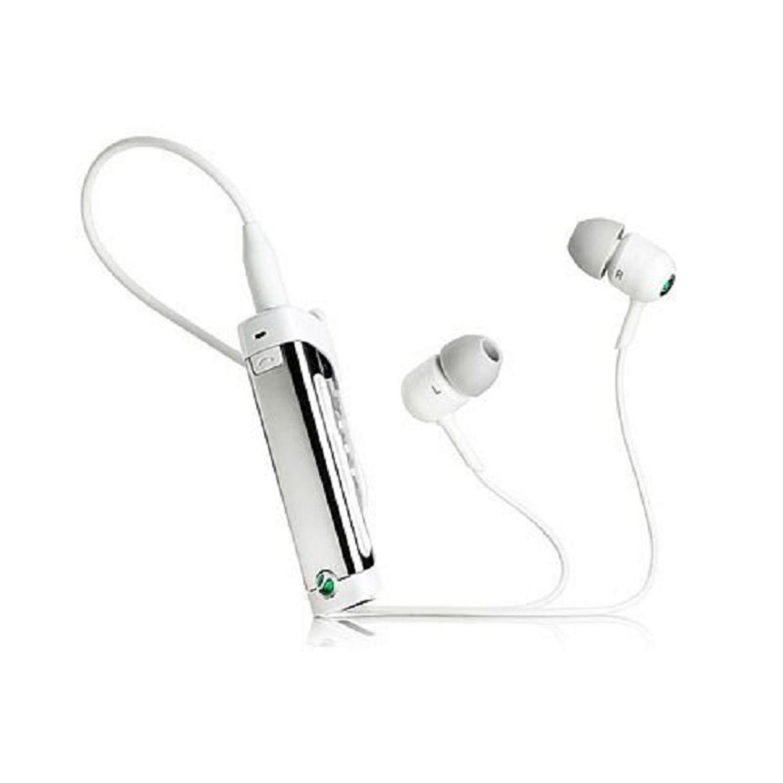 Sony Ericsson MW600 Hi-Fi Bluetooth FM Radio Stereo Headset - White