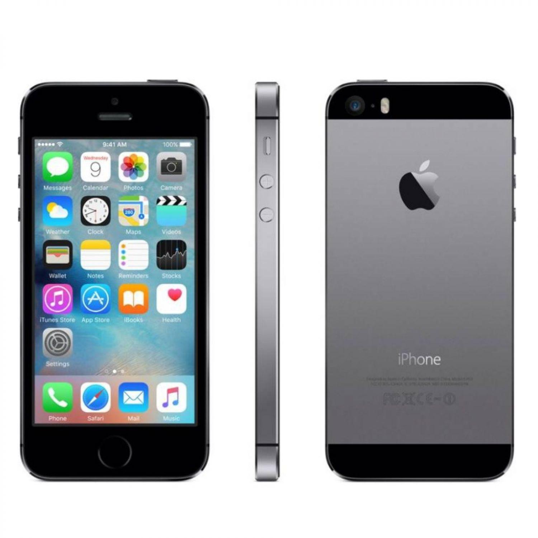 apple iphone 5s 16gb space gray grau ovp top zustand ebay. Black Bedroom Furniture Sets. Home Design Ideas