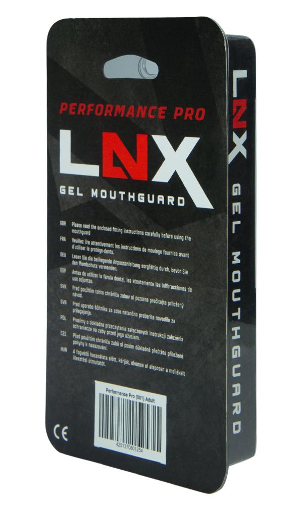 Indexbild 16 - LNX Zahnschutz Performance Pro Gel Mundschutz MMA Boxen Shock Football EisHockey