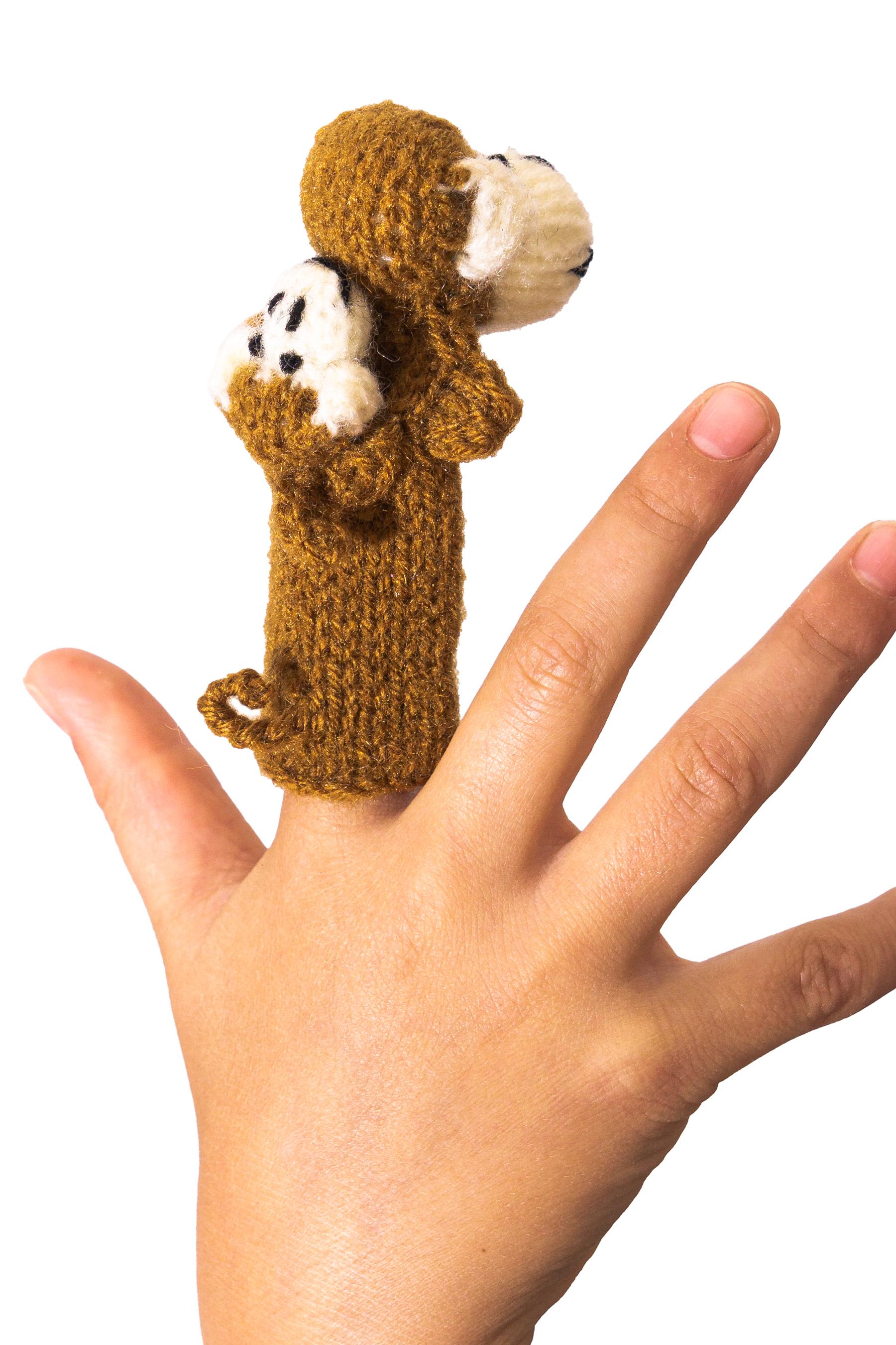 Fingerpuppen Tiere Stoff Handpuppe Kinder Baby Spielzeug