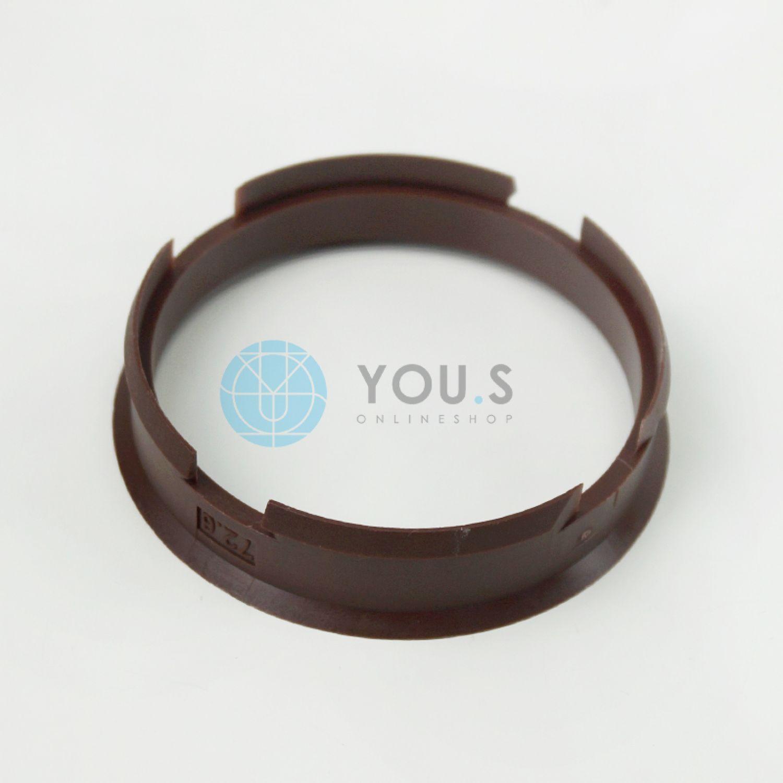 1 x ZENTRIERRING DISTANZRING ALUFELGEN OF05 110,0-100,0 mm NEU