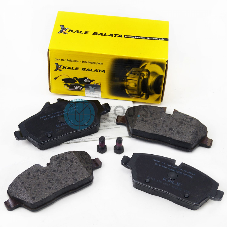 Ferodo FDB1747 Front Right Left Brake Pads Axle Set BMW 116d 116i 118d 118i 120i