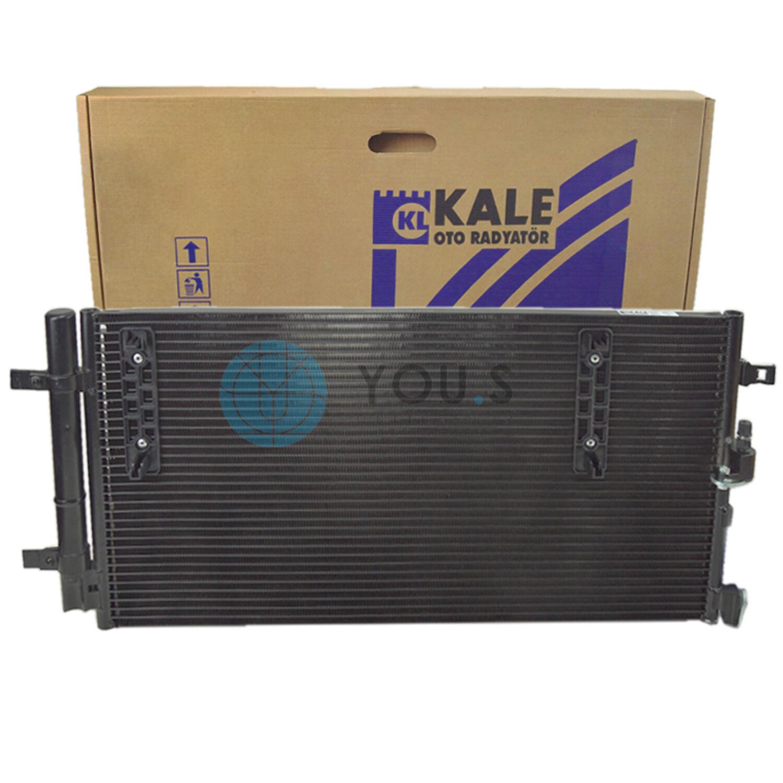 940042 Condensador para aire acondicionado clima condensador clima radiador nuevo Nissens