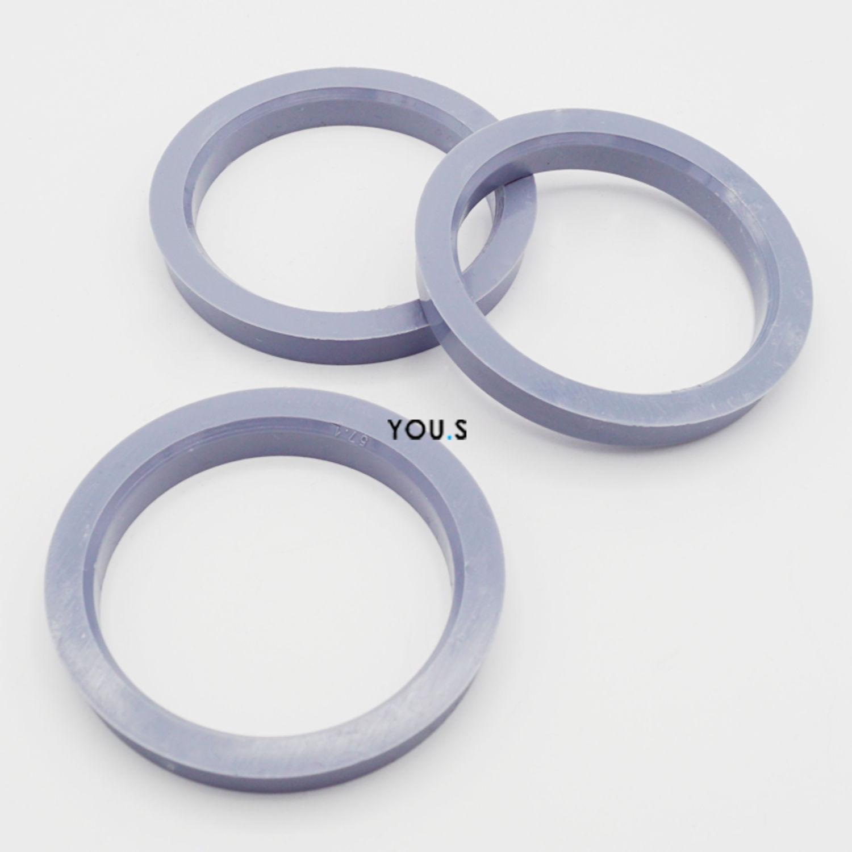 5 x anillas de centrado anillo distanciador para llantas de aluminio 70,0-57,1 mm