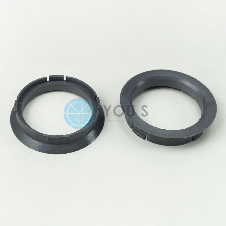 ASA NEU 5 x ZENTRIERRINGE DISTANZRING ALUFELGEN R05  64,0-57,1 mm Alloytec