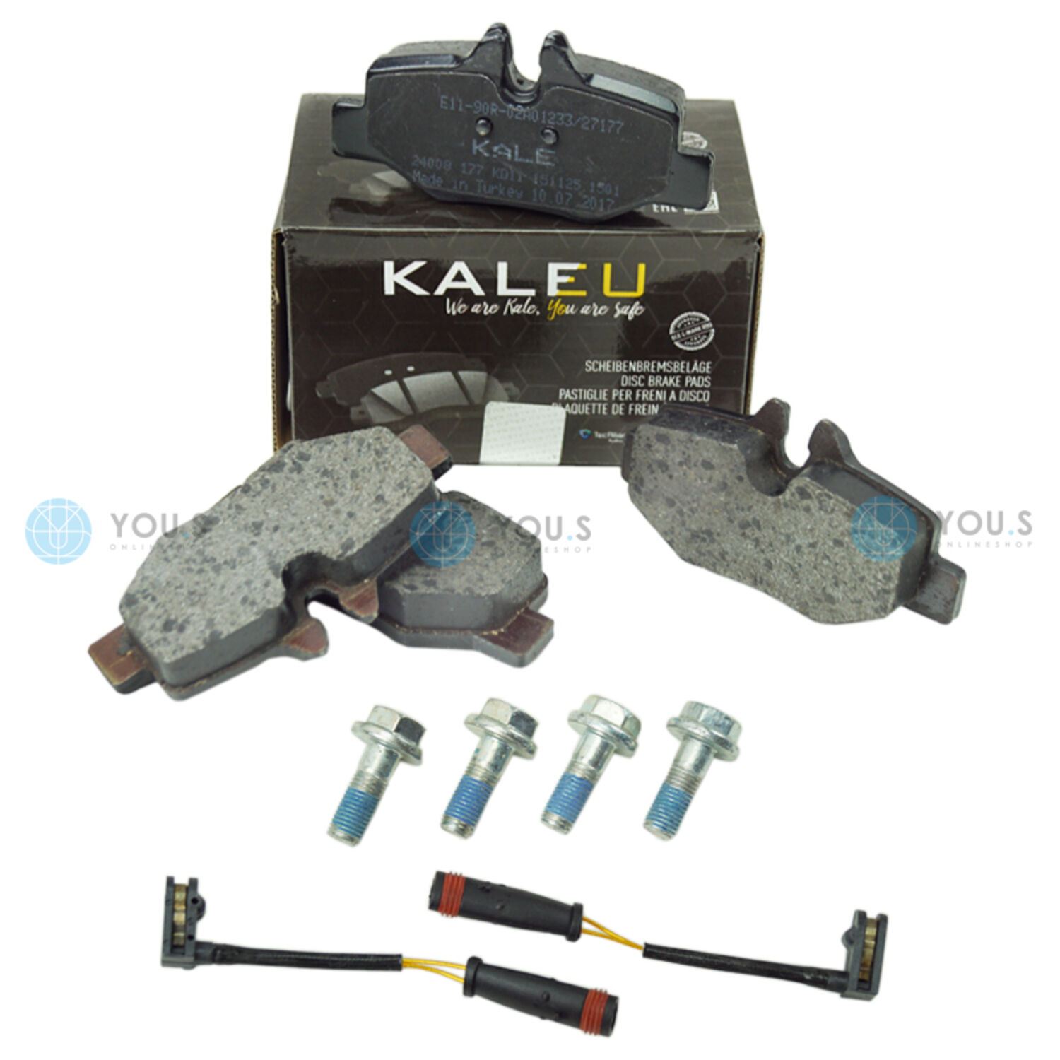 Rear Delphi Brake Shoes Mercedes-Benz Vito//Mixto 116 CDi 116 CDi 4x4 111 CDi
