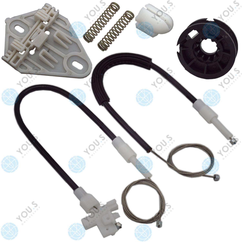 SET Hinten Links Rechts YOU.S elektrischer Fensterheber Reparatursatz