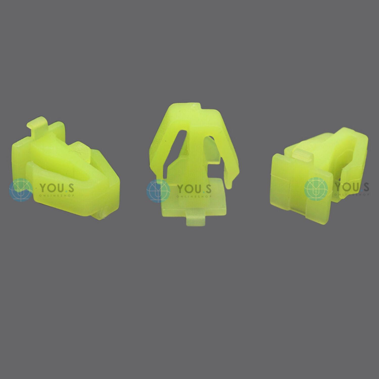NEU 40 x YOU.S Original Kunststoff Abdeckung Clips für ALFA ROMEO FIAT LANCIA