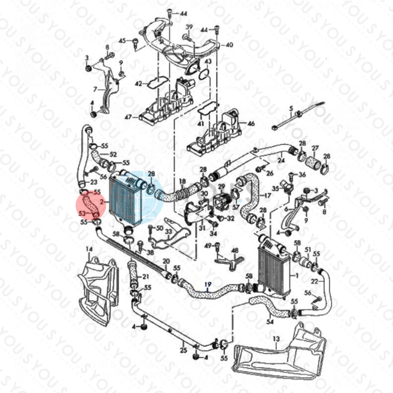 sito web per lo sconto dai un'occhiata miglior fornitore YOU.S ORIGINALE Tubo Tubo di Aspirazione per Audi A6 2.7 Tdi 3.0 ...