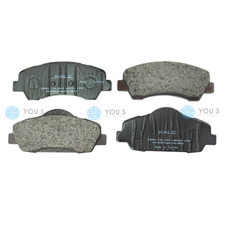 Front Delphi Brake Pads Peugeot 308 1.6 BlueHDI 120 1.6 HDI//BlueHDI 115 1.6 HDI