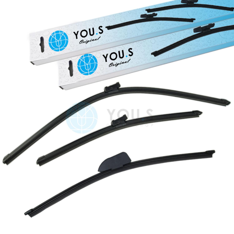 Rear Windscreen Window Wiper Blade Flat A310H Replacement Bosch 3397 013 049