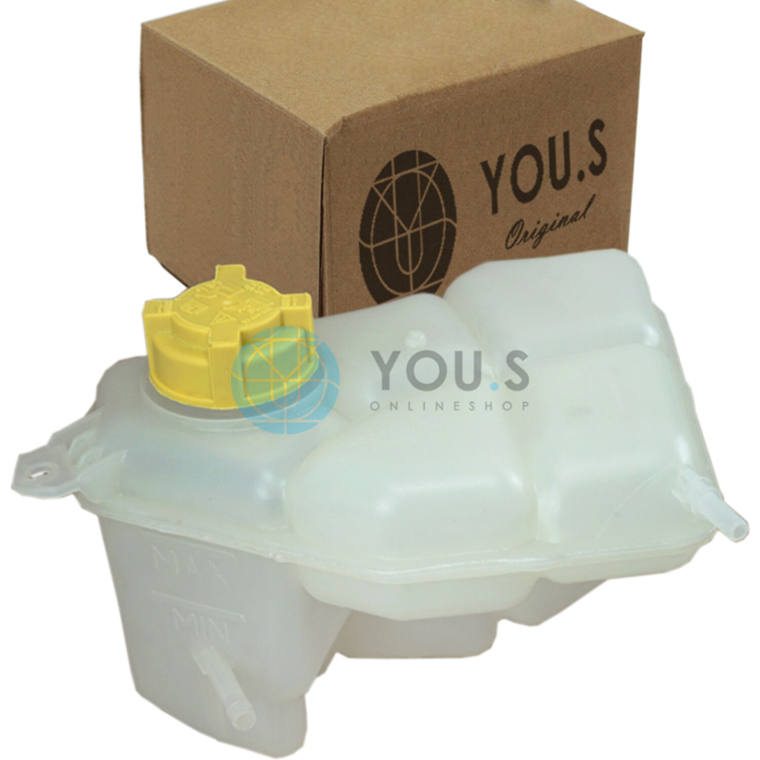 ★ NEW Engine Coolant Recovery Bottle Expansion Tank Reservoir 10-12 Ford Fusion