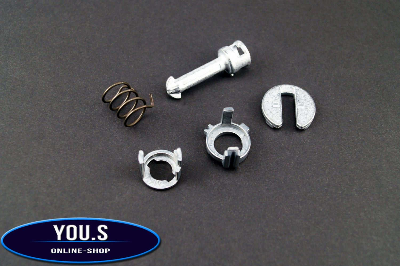 5 x YOU.S Reparatursatz Türschloss Zylinder Vorne Links für BMW X5 E53 NEU