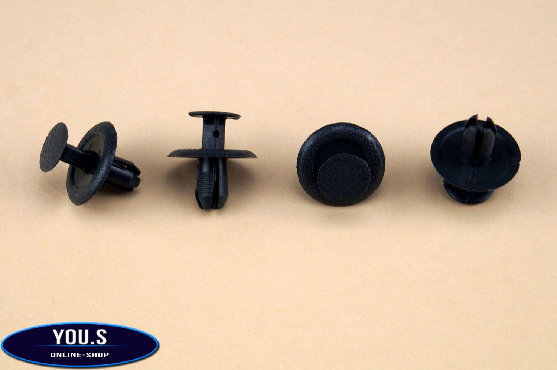 10 x Befestigungs Clips Halter für Ford Mustang 5R3Z54210D12AAA NEU