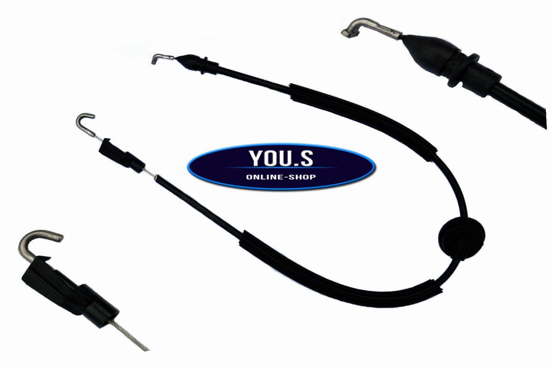 Arrière Gauche et VW Passat 3b 1996-2005 Câble Flexible Serrure de Porte