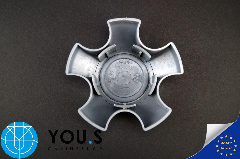4 COPRIMOZZO COPERCHIO MOZZO senza logo-esterno 68,0 mm interno 62,5 mm-NUOVO