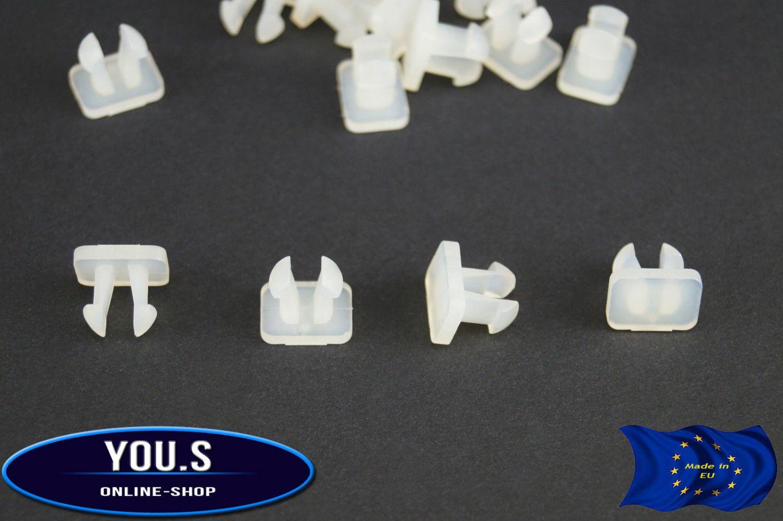 30x Door Seal Clip Button for Mercedes W114 W115 W116 W123 W124 W140 W201 W210