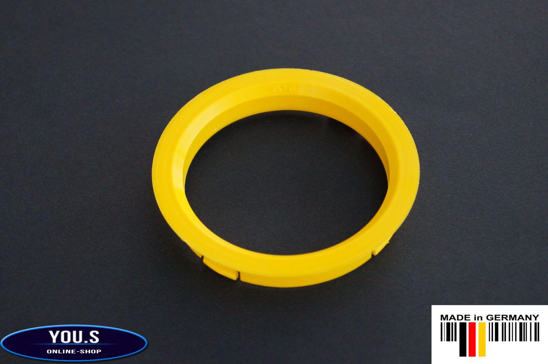 4 x anelli di centraggio distanza Anello Cerchi in lega 73,1 x 54,1 mm DBV Proline Schmidt s41