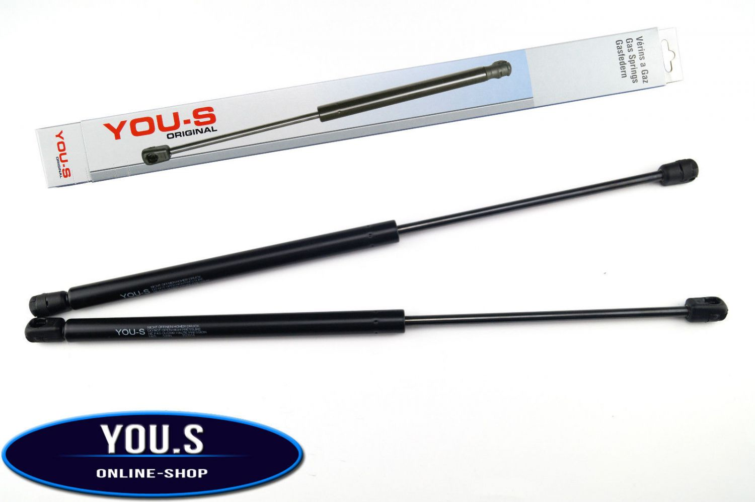Tailgate Boot Struts Gas Springs Lifters x2 compatible with Nissan Qashqai J10 JJ10 2007