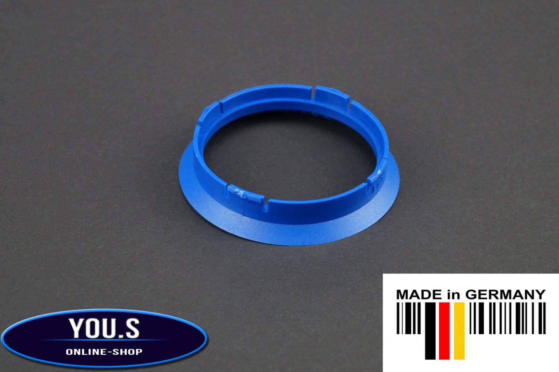 10 x ZENTRIERRINGE DISTANZRING ALUFELGEN FZ23 74,1-65,1 mm CMS DBV NEU