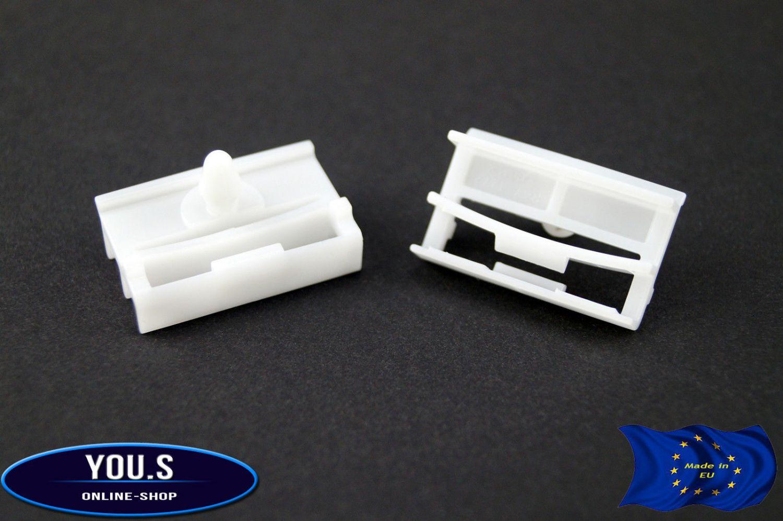 10 x YOU.S Original Seitenleiste Schweller Halter Clips für BMW 3er E90 E91 E92