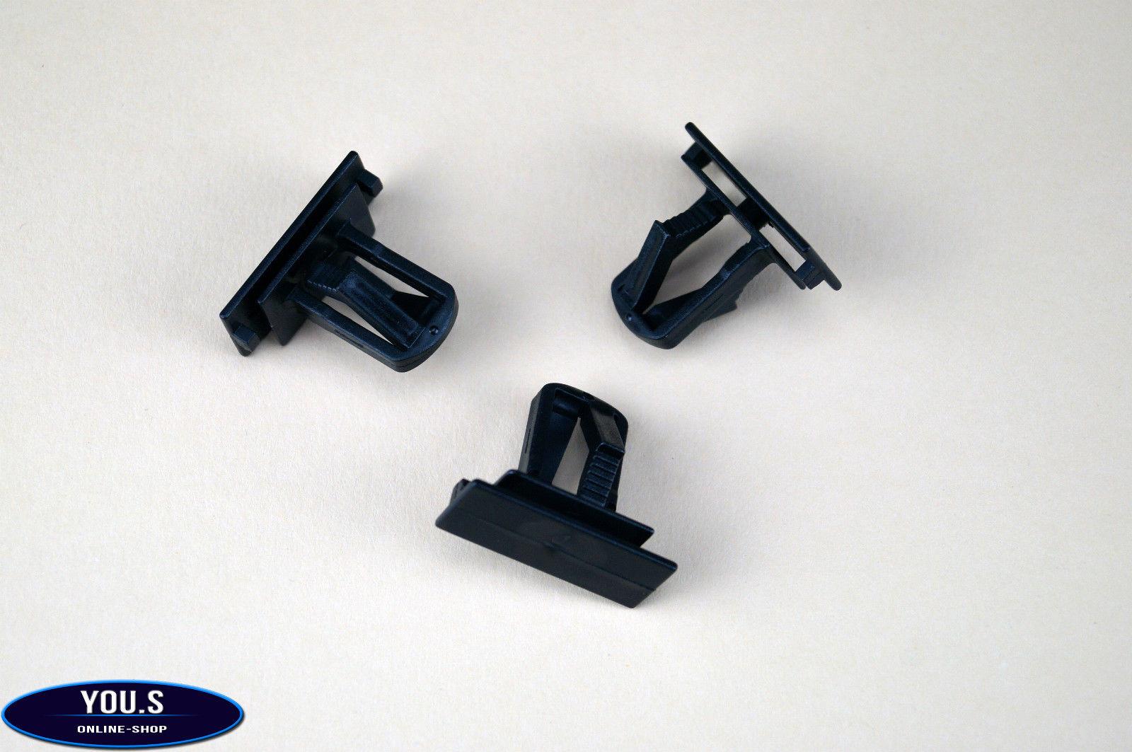 10x parachoques clip de fijación para jeep liberty Wrangler Cherokee 55156429aa