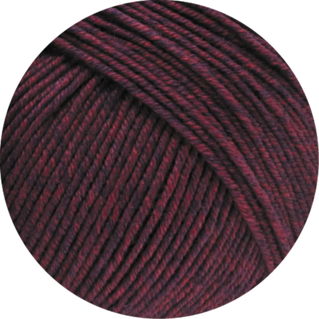 142 dunkelrot 50 g Wolle Kreativ Cool Wool Melange Lana Grossa Fb