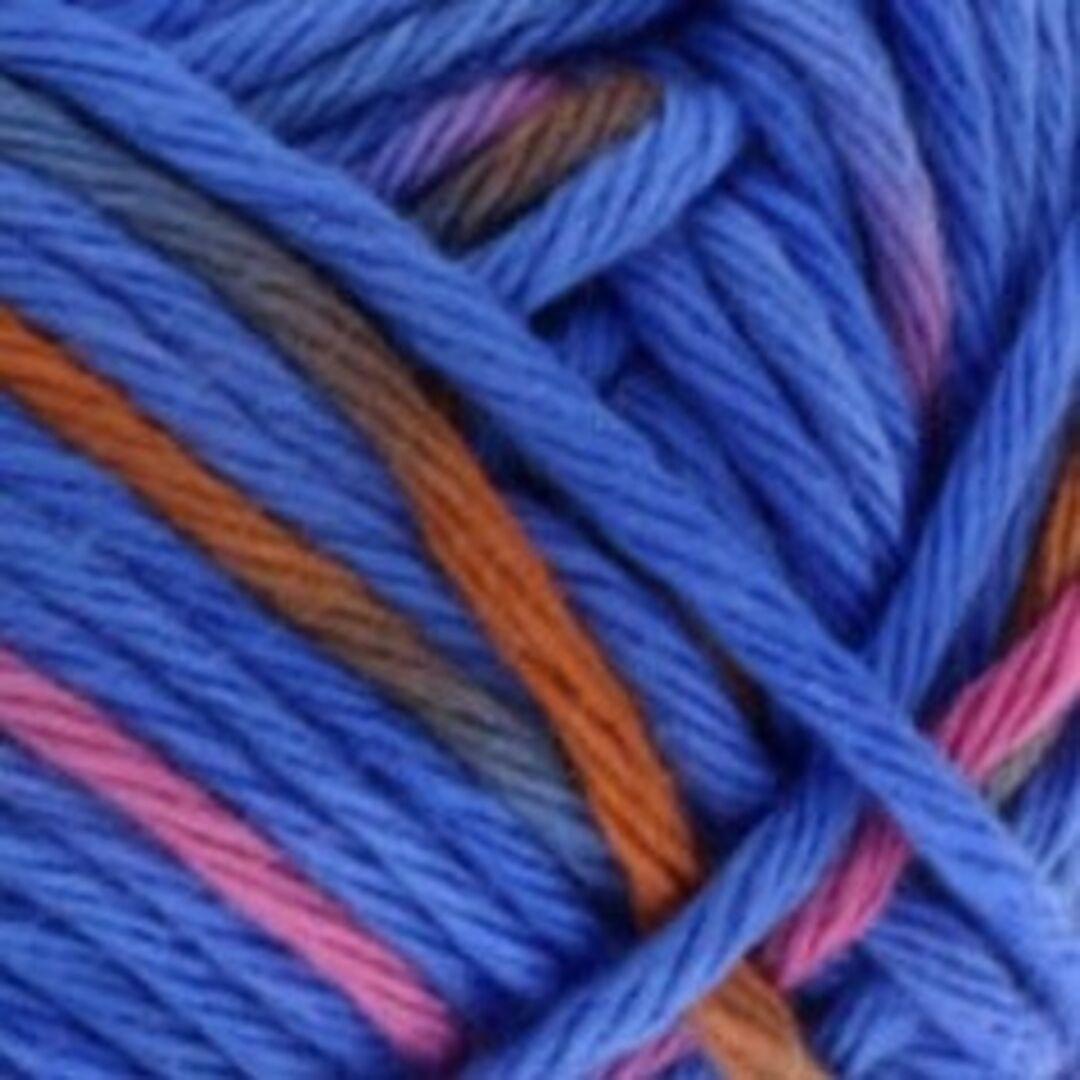 608 rot//blau//orange//rosa 50 g Twin Print Wolle Kreativ Fb Lana Grossa