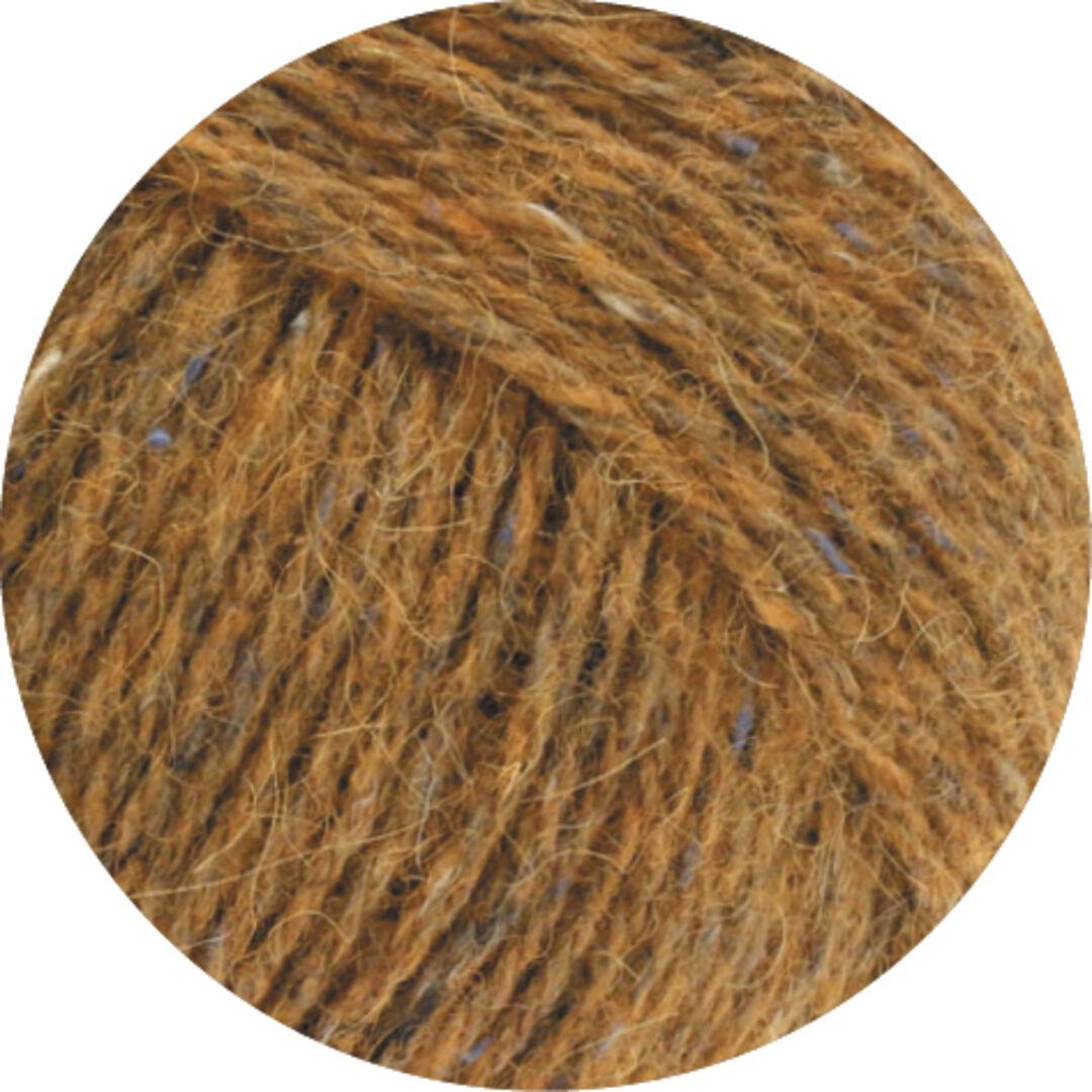 Fb Ascot Lana Grossa Wolle Kreativ 27 ockergelb meliert 50 g
