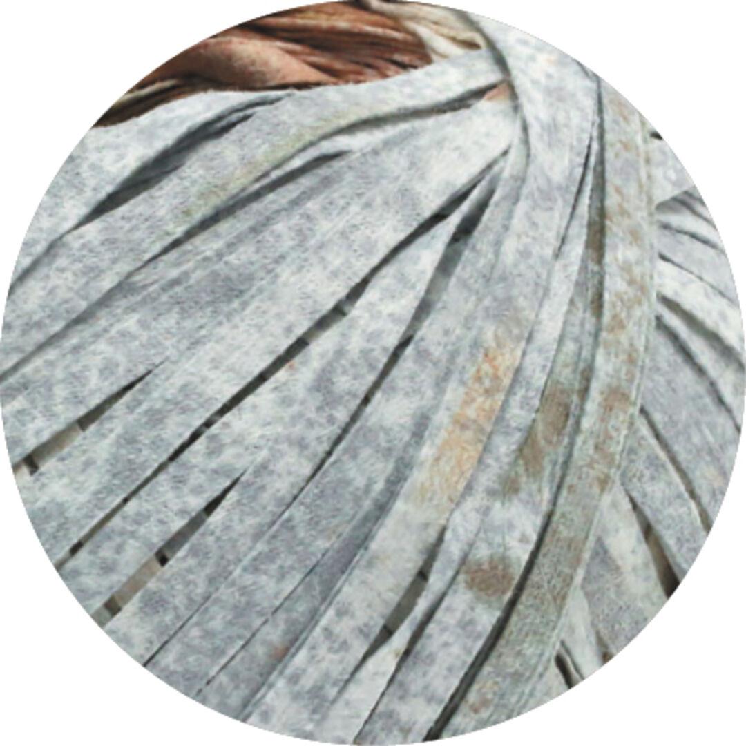 104 grau 50 g Wolle Kreativ Lana Grossa Fb Alcanto Print