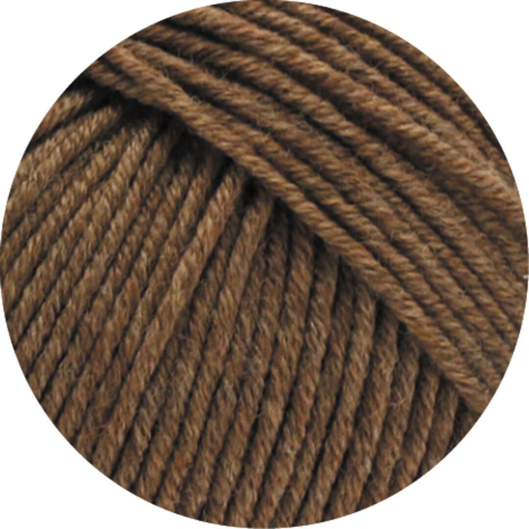 Cool Wool Big Melange Wolle Kreativ 344 braun meliert 50 g Lana Grossa Fb