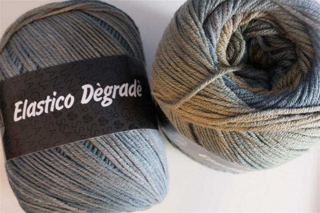 104 Braun//Beige Lana Grossa Lace Pearls Degrade 25g Wolle Fb