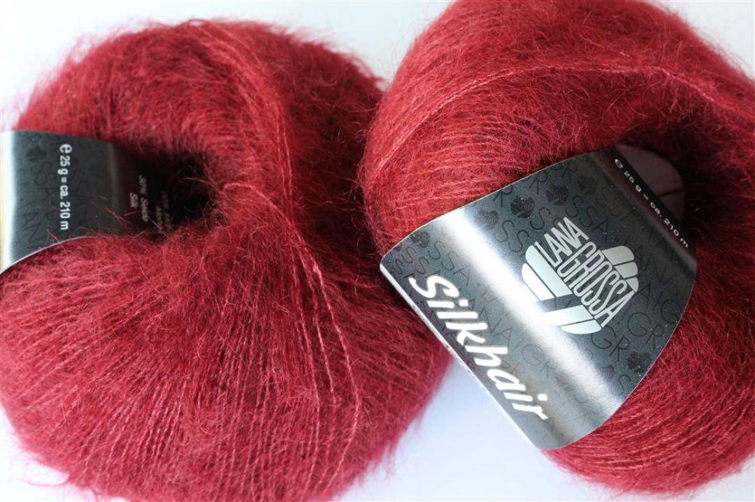 Lana Grossa Fb Silkhair Wolle Kreativ 123 perlbeige 25 g
