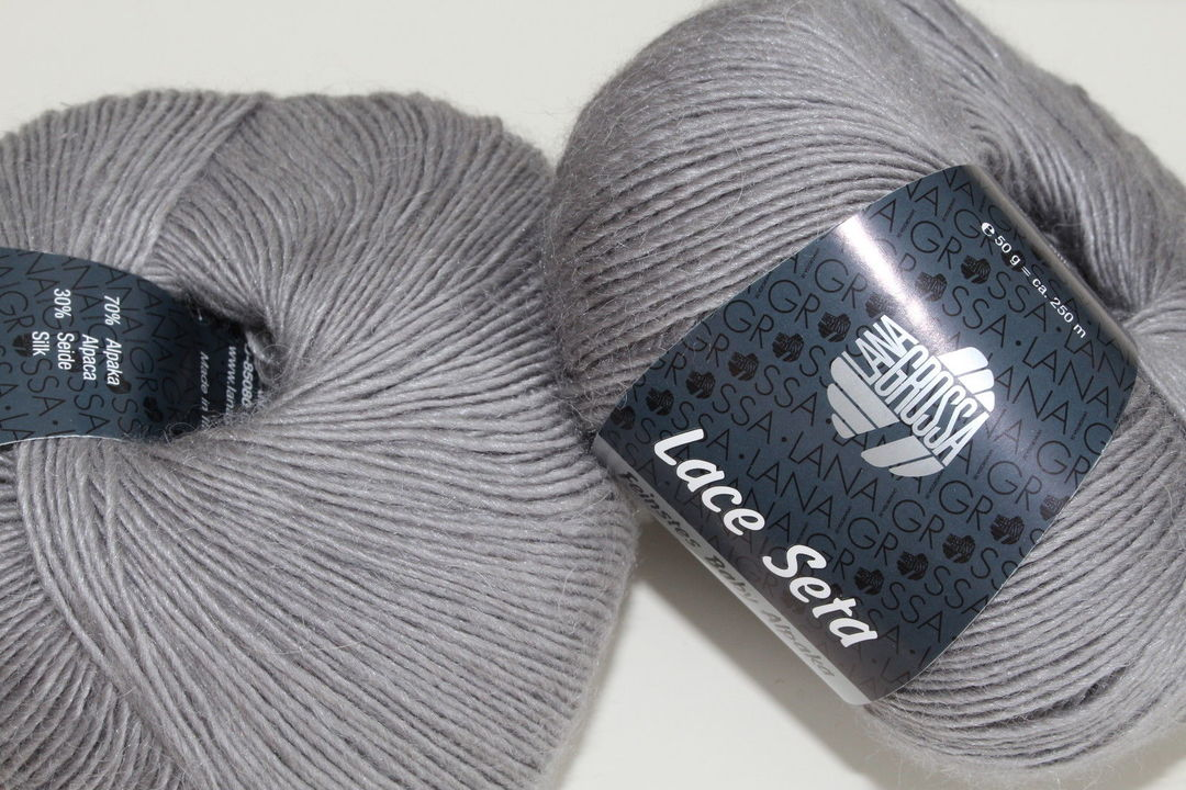 6 taupe 50 g Fb Lana Grossa Wolle Kreativ Lace Seta