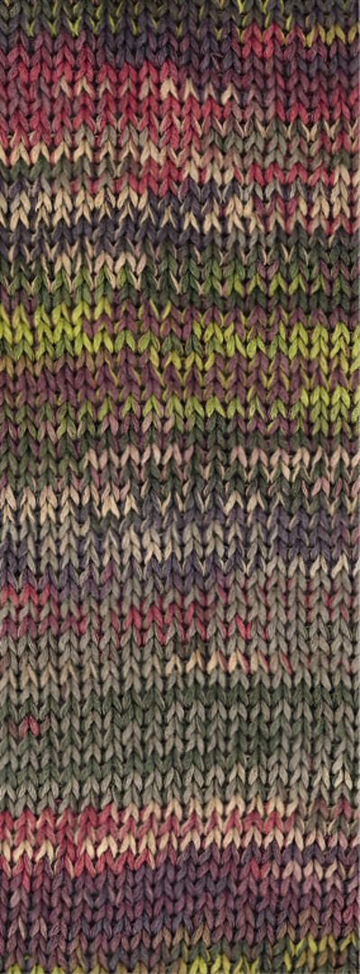 A Mano Fb Wolle Kreativ Lana Grossa 2 beere//violett//grün//natur 50 g