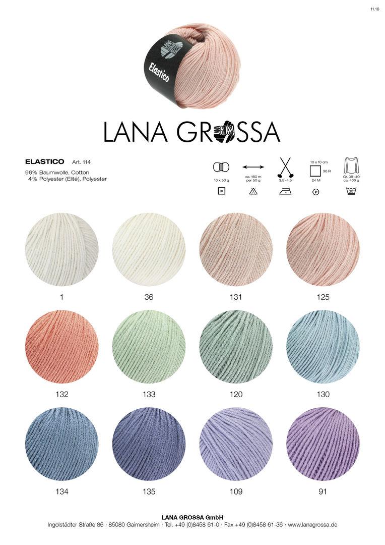 16 nachtblau 50 g Scala Lana Grossa Fb Wolle Kreativ