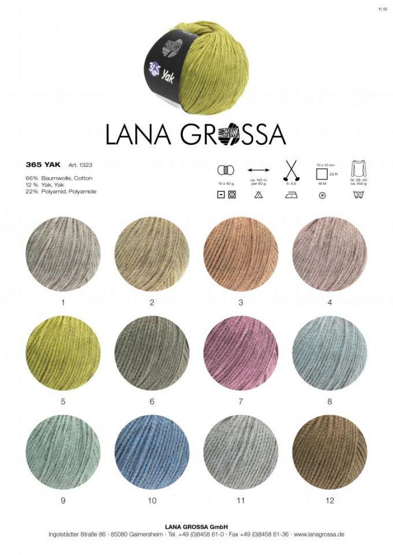 Lana Grossa 365 Yak