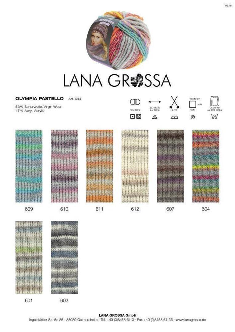 Laine Créatif Lana Grossa-Olympia Denim-Fb 253 100 g