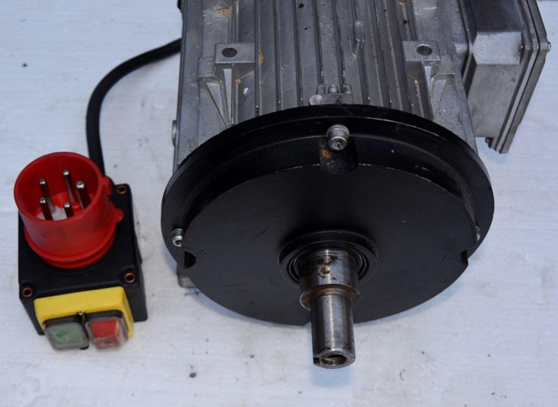 Scheppach Elektromotor 400 V 5,2 kW für Wippsäge Wippkreissäge mit ...