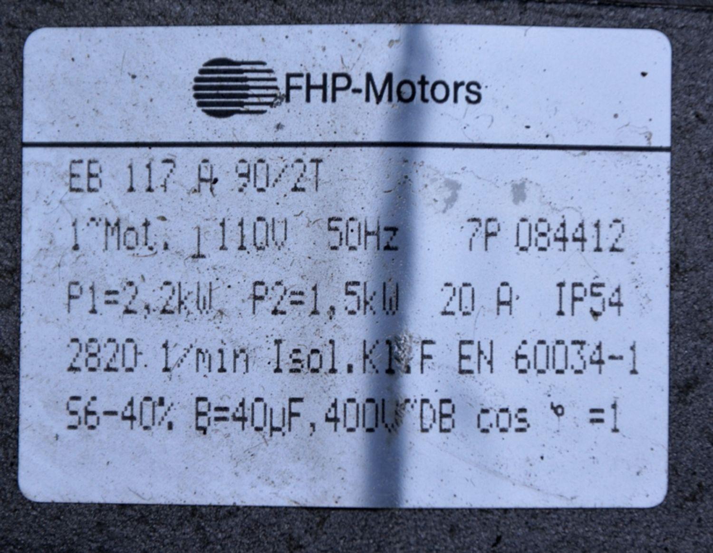Elektromotor 2,2 kW Dreipoliger 16A-Stecker und Schalter für ...
