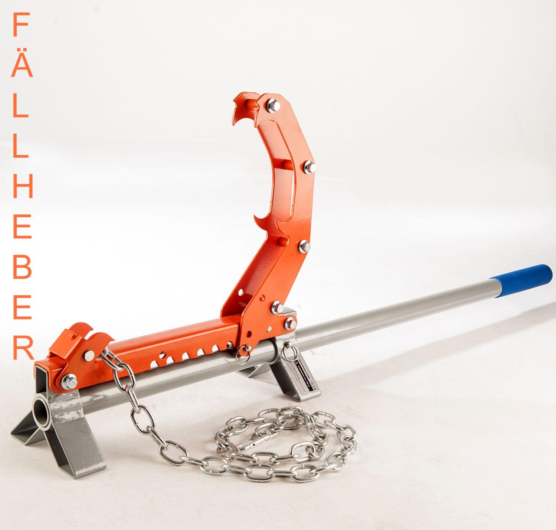 Wendehaken Stammwender LT-505 Stammheber Sägebock für Brennholz Fällheber inkl